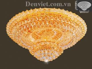 Đèn Chùm LED Pha Lê Đẹp Treo Phòng Khách | Đèn Trang Trí, Đèn Led - Đèn Việt