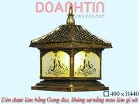 Đèn Cổng Giả Đồng Đẹp ATD1429E   Đèn Trang Trí, Đèn Led - Đèn Việt