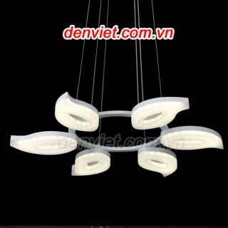 Đèn thả hình hoa đơn giản   Đèn Trang Trí, Đèn Led - Đèn Việt
