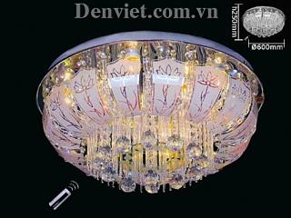 Đèn Chùm LED Oval Đẹp Treo Phòng Khách | Đèn Trang Trí, Đèn Led - Đèn Việt