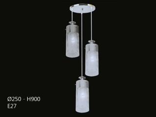 Đèn thả thủy tinh BT3332/3 | Đèn Trang Trí, Đèn Led - Đèn Việt