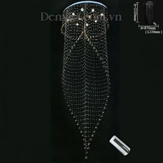 Đèn Chùm Thả Pha Lê LED Tinh Tế Treo Phòng Khách | Đèn Trang Trí, Đèn Led - Đèn Việt