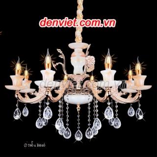 Đèn chùm nến giá rẻ trang trí phòng khách | Đèn Trang Trí, Đèn Led - Đèn Việt