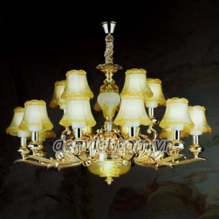 Đèn chùm led pha lê trang trí phòng khách đẹp giá rẻ | Đèn Trang Trí, Đèn Led - Đèn Việt