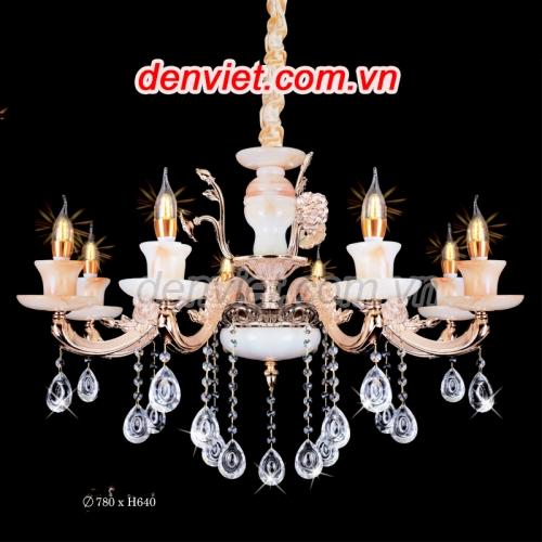Đèn chùm nến giá rẻ trang trí phòng khách
