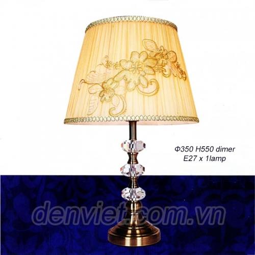 Đèn ngủ để bàn thêu hoa nổi bật VNG2604
