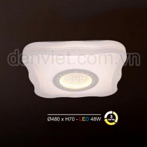 Đèn ốp trần Led HMLC3 trang trí hàng lang ban công