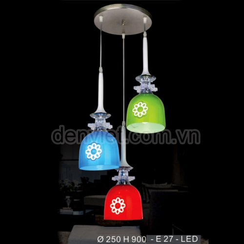 Đèn thả thủy tinh trang trí bàn ăn BT3344/3