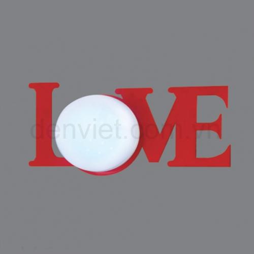 Đèn tường hình chữ LOVE BV3484