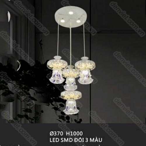 Đèn thả pha lê trang trí bàn ăn sang trọng QTL7554/4