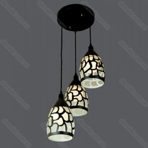 Đèn thả bàn ăn thiết kế đơn giản hiện đại HTL2956/3