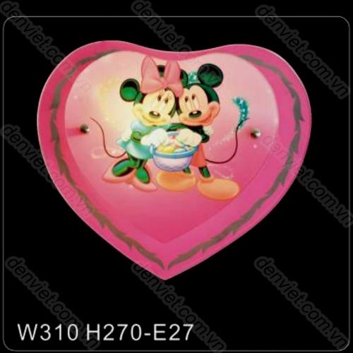 Đèn tường trẻ em giá rẻ hình chuột mikey và minnie