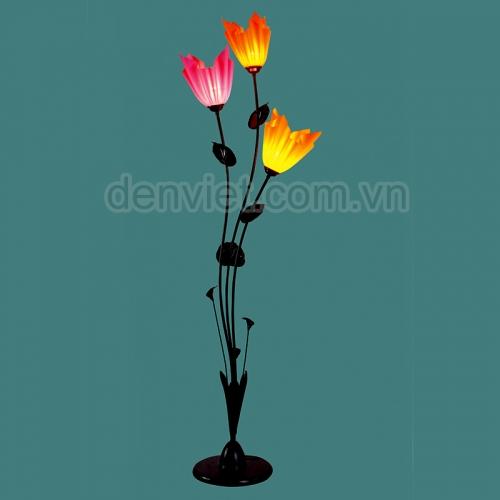 Đèn sàn cao cấp hình bông hoa trang trí phòng khách