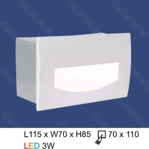 Đèn âm bậc thang HACT01T