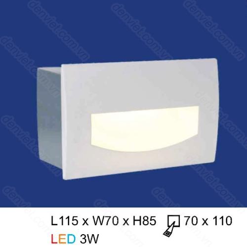 Đèn âm bậc thang HACT01V