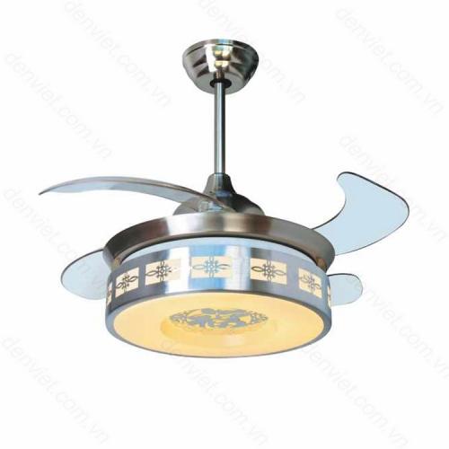 Đèn quạt trần cao cấp có chức năng đèn ngủ