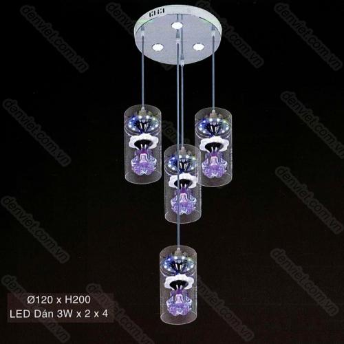 Đèn thả pha lê cao cấp AT6109/3+1