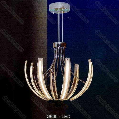 Đèn thả trần kiểu ý thiết kế hiện đại trang trí phòng khách