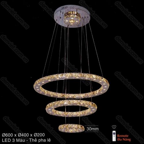 Đèn chùm thả pha lê cao cấp thiết kế hiện đại ATBA75