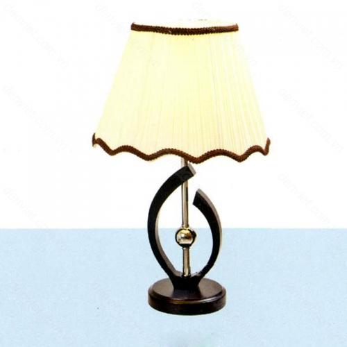 Đèn ngủ để bàn gỗ cao cấp thiết kế hiện đại AB094