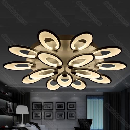 Đèn chùm hiện đại trang trí nội thất cực đẹp