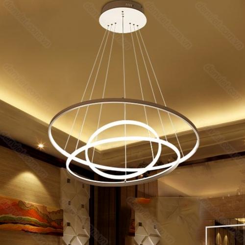 Đèn chùm thả hiện đại thiết kế đơn giản trang trí phòng khách