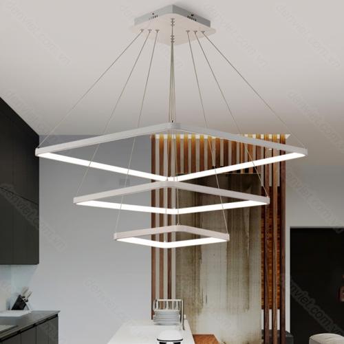 Đèn chùm hiện đại thiết kế đơn giản sang trọng trang trí phòng khách