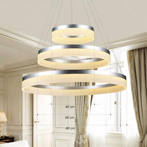 Đèn chùm thả hiện đại trang trí nội thất cao cấp