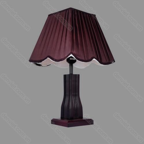 Đèn ngủ để bàn gỗ cao cấp trang trí nội thất sang trọng