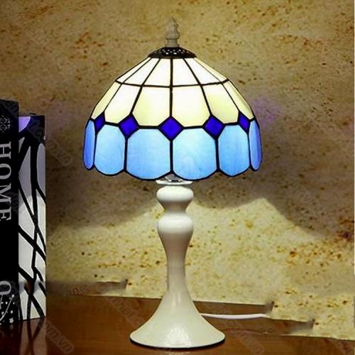 Đèn để bàn Tiffany cao cấp trang trí phòng ngủ