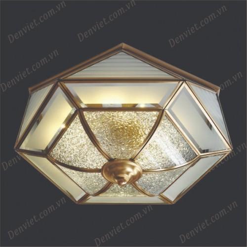 Đèn áp trần đồng cổ điển YMDC6112-300