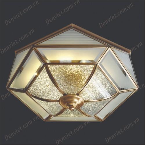Đèn áp trần đồng cổ điển YMDC6112-400