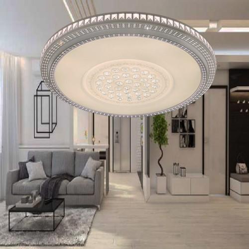Đèn áp trần Led mâm tròn 46W sáng 3 màu , thiết kế đơn giản,trang trí phòng khách