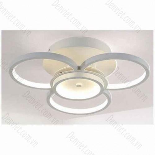 Đèn áp trần LED nghệ thuật cánh tròn YMT1079/3+1