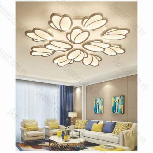 Đèn áp trần LED nghệ thuật giá rẻ 12 cánh  YMT1067/8+4