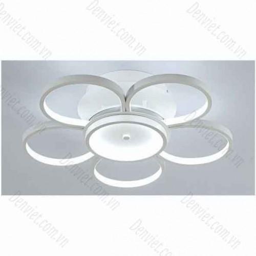 Đèn áp trần LED nghệ thuật giá rẻ YMT1080/5+1