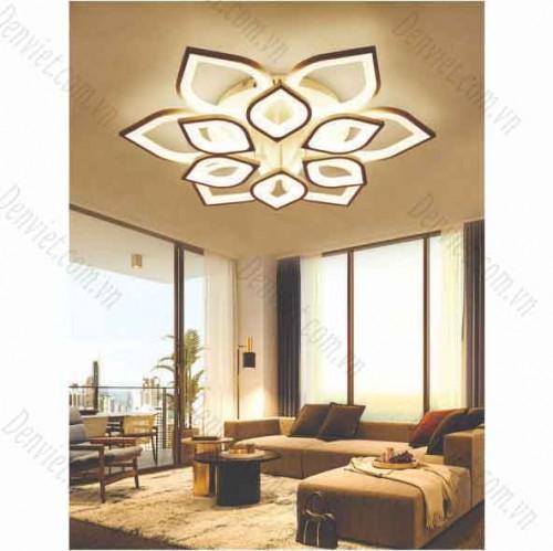 Đèn áp trần LED nghệ thuật hình bông hoa 12 cánh giá rẻ MT1045/6+6