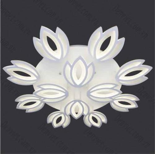 Đèn áp trần LED nghệ thuật hình bông hoa MT1039/8+4