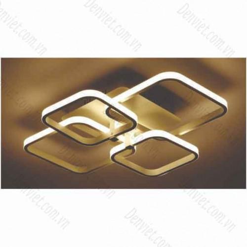 Đèn áp trần LED nghệ thuật vuông MT1086/4