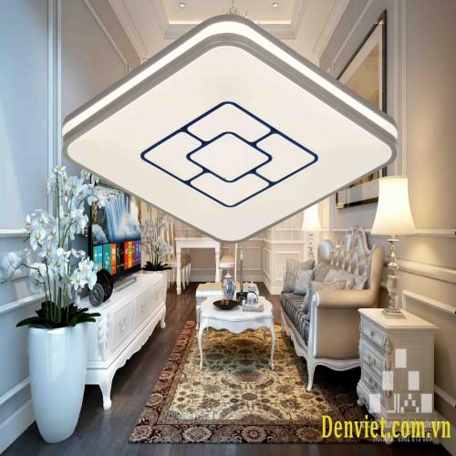 Đèn áp trần vuông, Led 3 màu, thiết kế đơn giản , trang trí phòng khách ML1344