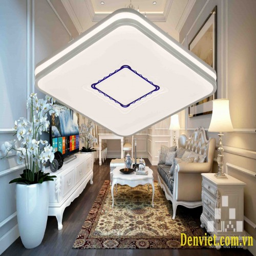 Đèn áp trần vuông, Led 3 màu, thiết kế đơn giản , trang trí phòng khách ML1345