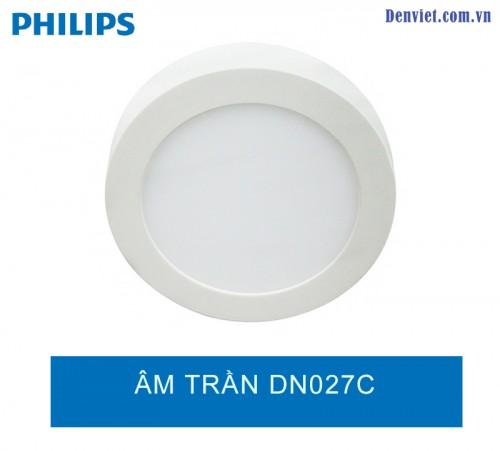 Đèn LED âm trần lắp nổi DN027C 15w Philips