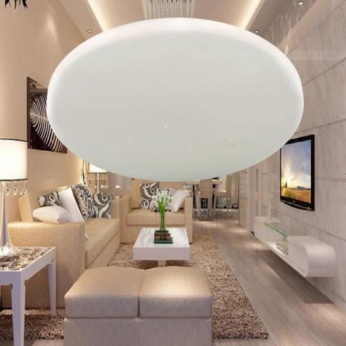 Đèn mâm Led áp trần , thiết kế đơn giản, sang trọng, ánh sáng Led 3 màu ML1302