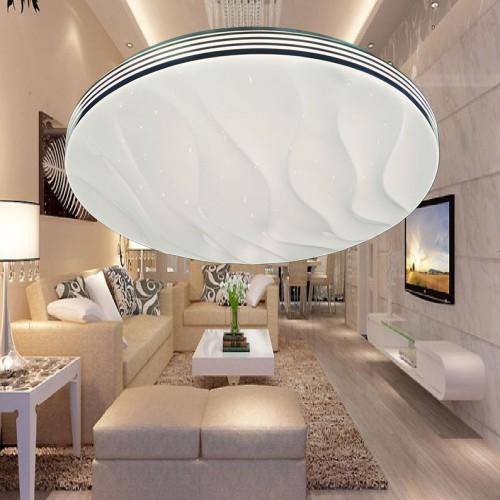 Đèn mâm Led áp trần , thiết kế đơn giản, sang trọng, ánh sáng Led 3 màu ML1303