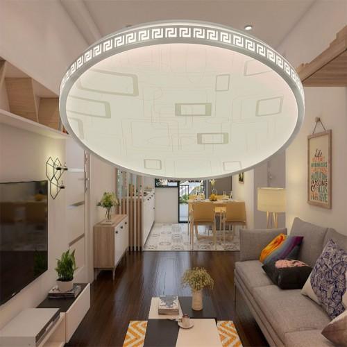 Đèn mâm Led tròn áp trần, ánh sáng LED 3 màu 46W  ML1341