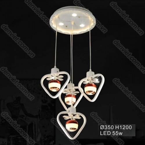 Đèn thả LED đẹp trang trí nội thất cao cấp
