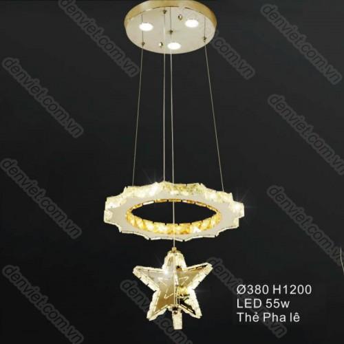 Đèn thả pha lê đẹp trang trí nội thất cao cấp